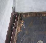 防水紙破損