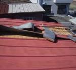 金属屋根捲