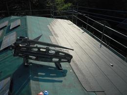 屋根修理 施工過程