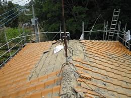 屋根修理施工前