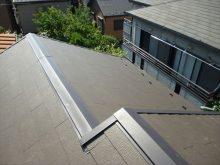 東京都葛飾区M様邸 (和瓦からコロニアル葺きへ)屋根葺き替え工事