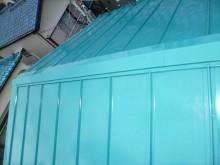 東京都江戸川区S様邸 ガルバリウム鋼板タテ平葺き(シージングボード下地)屋根葺き替え工事